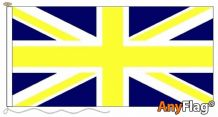 UNION JACK BLUE AND YELLOW ANYFLAG RANGE - VARIOUS SIZES